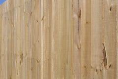 Nouveau fond en bois gentil de barrière image libre de droits