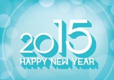 Nouveau fond heureux d'abrégé sur les textes du voix pour 2015r Photographie stock libre de droits