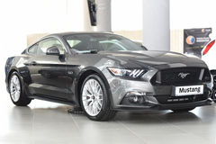 Nouveau Ford Mustang Fastback Photographie stock