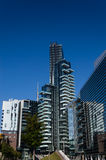 Nouveau gratte-ciel dans Porta Nuova, Milan, Italie images stock