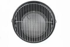 Nouveau gril propre vide de bouilloire de BBQ d'isolement image stock