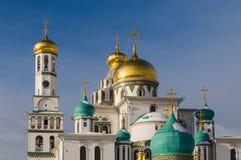 Nouveau Jérusalem monastère de Voskresensky Images stock