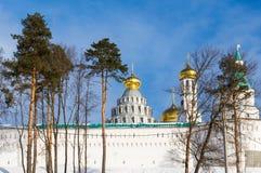 Nouveau Jérusalem monastère de Voskresensky Photographie stock