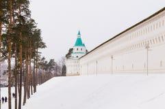 Nouveau Jérusalem monastère de Voskresensky Photographie stock libre de droits