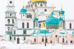 Nouveau Jérusalem monastère de Voskresensky Image libre de droits