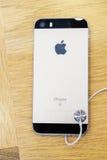 Nouveau lancement de smartphone de Se d'iPhone d'Apple Photographie stock libre de droits