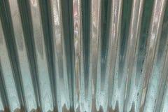 Nouveau métal de zinc image stock