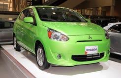 Nouveau modèle de Mitsubishi Photographie stock