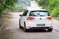 Nouveau modèle du golf GTI 2013 de Volkswagen photographie stock libre de droits
