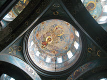 Nouveau monastère d'Aphon L'Abkhazie Photo libre de droits