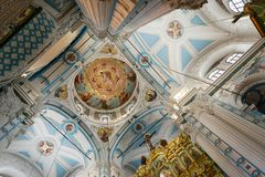 Nouveau monastère de Jérusalem, Istra, Russie photographie stock libre de droits