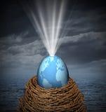 Nouveau monde illustration libre de droits