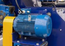 Nouveau moteur électrique puissant photo stock