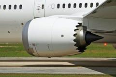 Nouveau moteur d'avion modèle Photos stock
