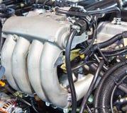 Nouveau moteur de camion Photographie stock