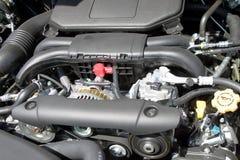 Nouveau moteur de voiture images libres de droits