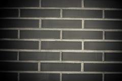Nouveau mur de briques rouge sans fenêtre Fond toned Images libres de droits