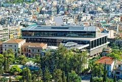 Nouveau musée d'Acropole Images libres de droits