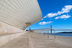 Nouveau musée d'architecture Image libre de droits