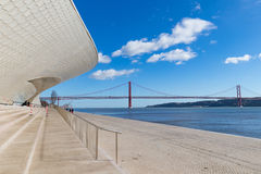 Nouveau musée d'architecture Photo libre de droits