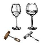 Nouveau novo do Beaujolais do vinho Imagens de Stock