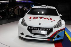 Nouveau Peugeot 208 RS image libre de droits