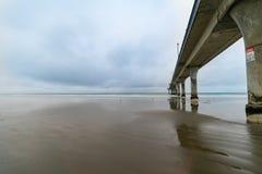 Nouveau pilier de Brighton, Christchurch photos libres de droits