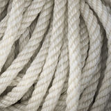 Nouveau plan rapproché jaune de corde Photos libres de droits