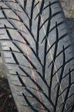 Nouveau pneu de véhicule Photo stock