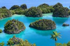 Nouveau point de vue à l'île 02 de Penemu Photos libres de droits