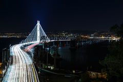 Nouveau pont de baie de San Francisco-Oakland Images stock