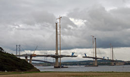 Nouveau pont de croisement de Queensferry Images stock