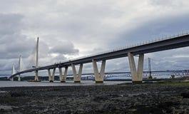 Nouveau pont de croisement de Queensferry Photos stock