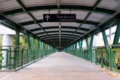 Nouveau pont en passage supérieur image stock
