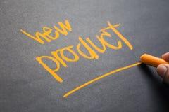 Nouveau produit photographie stock