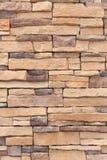 Nouveau revêtement de mur en pierre Photo libre de droits
