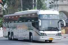 Nouveau Scania autobus de 15 mètres de société de Greenbus Image stock