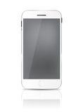 Nouveau téléphone portable réaliste avec Gray Screen Image stock