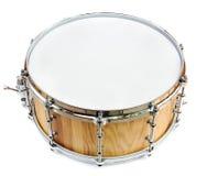 Nouveau tambour en bois de part d'isolement Photographie stock libre de droits