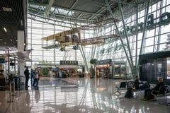 Nouveau terminal de l'aéroport de Bratislava, Slovaquie Photographie stock