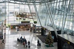 Nouveau terminal de l'aéroport de Bratislava, Slovaquie Photographie stock libre de droits