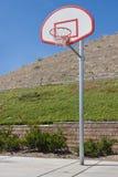Nouveau terrain de basket Photographie stock