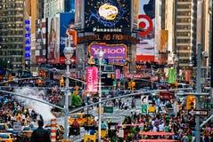 Nouveau Times Square images libres de droits