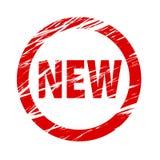 Nouveau vecteur d'actions de tampon en caoutchouc illustration libre de droits