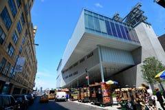 Nouveau Whitney Museum dans NYC photo libre de droits