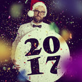 Nouveau Year& x27 ; partie de s Photographie stock libre de droits