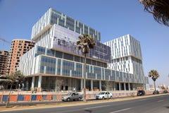 Nouveaux bâtiments de marina à Casablanca Images stock
