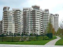 Nouveaux bâtiments résidentiels à Milan, Italie Image libre de droits