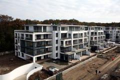 Nouveaux blocs en construction Photos libres de droits