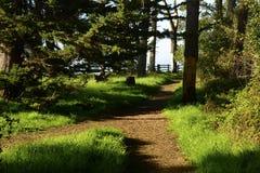 Nouveaux Brighton State Beach et terrain de camping, Capitola, la Californie photo libre de droits